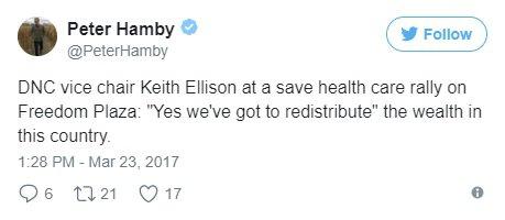 keith ellison tweet