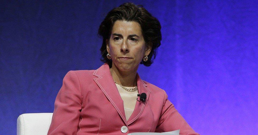 Biden picks Rhode Island Gov. Raimondo as commerce