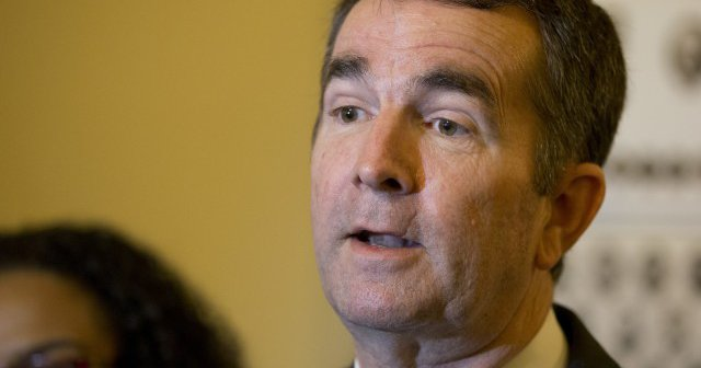 Northam can't shake his protestors