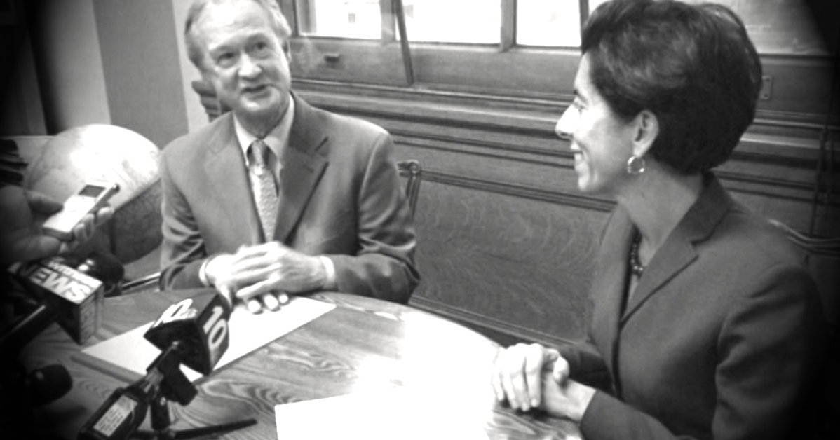 lincoln chafee and gina raimondo