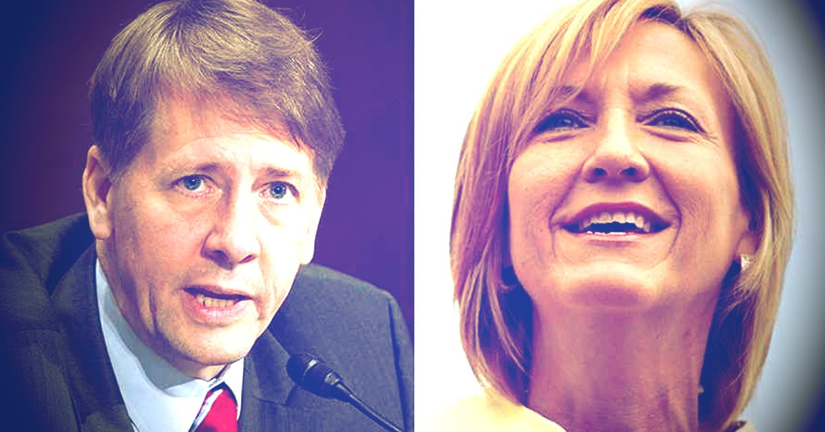 Richard Cordray and Betty Sutton