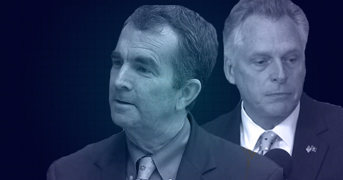 Terry McAuliffe and Ralph Northam